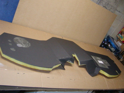 59 & 60 Firewall pad molded to fit your truck. Keep the sound and heat out with a new firewall Pad