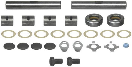 "complete kingpin kit for a complete I beam rebuild FRT SUSP METAL BUSHING - 0.8730"" X 5.375"""