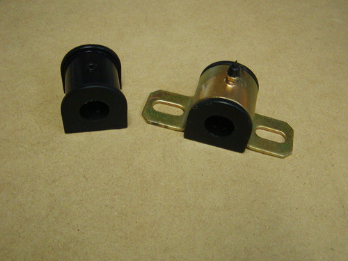 Sway Bar Bushings      Your vehicle's sway bar system will work at its maximum efficiency!     Replaces that original, short lived and too-soft rubber.     Easy to install with basic tools.     Made of rugged Energy's HYPERFLEX performance polyurethane material and the hardware is heavy duty for lasting durability.