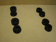 This is a complete set of cab mounts for 1957-1960 Dodge D100, D200, & Utiline (stepside) Trucks