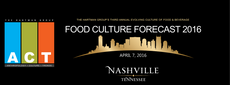 Hartman A.C.T. Food Culture Forecast 2016