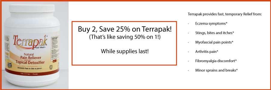 Terrapak sale. Buy 2, save 25%