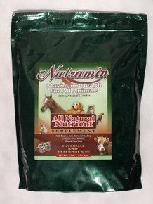 Nutramin 4 lbs Powder for Animals Calcium Montmorillonite Clay