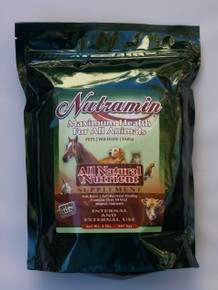 Nutramin 2 lbs Powder for Animals Calcium Montmorillonite Clay