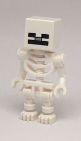 Constructibles LEGO¨ Skeleton Minifigure MInecraft 21127