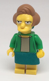 LEGO Edna Krabappel Simpson Minifigure Collectible Series 2