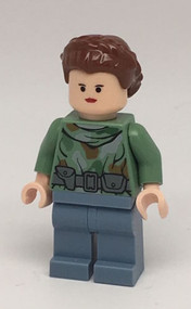 LEGO Princess Leia Endor Minifigure 8038 Star Wars
