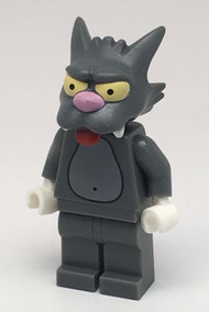 Constructibles LEGO¨ Scratchy Simpson Minifigure Collectible Series