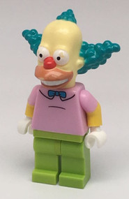 Constructibles LEGO¨ Krusty the Clown Simpson Minifigure Collectible Series