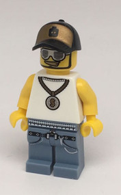 Constructibles LEGO¨ Series 3 Collectible Minifigure Rapper