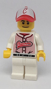 Constructibles LEGO¨ Baseball Player Collectible Minifigure Series 3