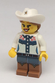 Constructibles LEGO¨ Collectible Minifigure Series 8 Cowgirl
