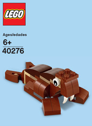 LEGO Walrus Mini Build Parts & Instructions Kit
