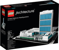 LEGO Architecture United Nations Headquarters 21018