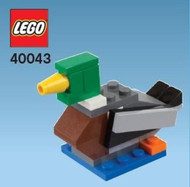 LEGO Duck Mini Build Parts & Instructions Kit
