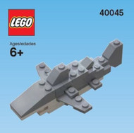 Constructibles® Shark Mini Model LEGO® Parts & Instructions Kit (2012) - 40045