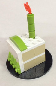 Lego Custom Birthday Cake Parts & Instructions 40048 NEW Cake Topper