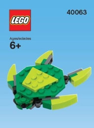 Lego® Sea Turtle Mini Build - 40063