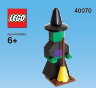 Constructibles® Halloween Witch Mini Model LEGO® Parts & Instructions Kit - 40070