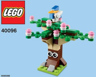 Lego Spring Tree Parts & Instructions  Mar 2014 Monthly Mini Model Build 40096