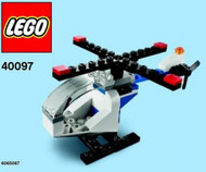 LEGO Helicopter Mini Build Parts & Instructions Kit