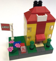 Lego Microscale Danish Building Parts & Instructions Kit - 101 Pieces - 4000019