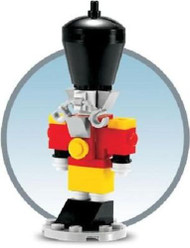Lego Nutcracker Toy Soldier Parts & Instructions Kit Dec 2011 Monthly Mini Model