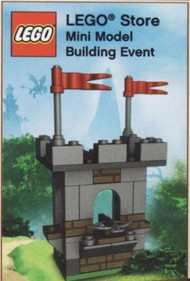LEGO Castle Mini Build Parts & Instructions