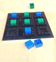 Tic Tac Toe Set - Board and Game Pieces