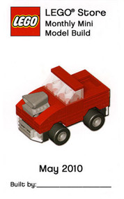 Constructibles® Hot Rod Truck LEGO® Mini Build Parts & Instructions Kit