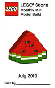 LEGO Watermelon Mini Build Parts & Instructions Kit