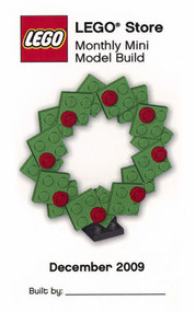 Constructibles® Christmas Wreath LEGO® Parts & Instructions Kit