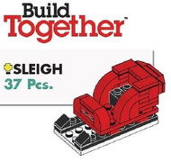 Lego Christmas Sleigh Parts & Instructions - Build Together Mini Model