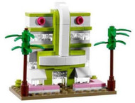 Lego Art Deco Hotel Parts & Instructions Kit Miami Florida Store Grand Opening