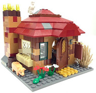 Lego Harry Potter Cottage Parts & Instructions Kit