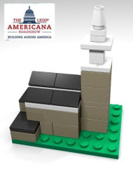 LEGO Boston Old North Church Micro Build Parts & Instructions - LEGO Americana
