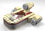 LEGO Star Wars Luke's Landspeeder Parts & Instructions Kit