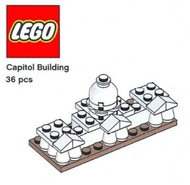 LEGO US Capitol Building Micro Build Parts & Instructions - Monuments Roadshow