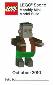 Constructibles® Frankenstein's Monster Mini Model LEGO® Parts & Instructions Kit (2010)