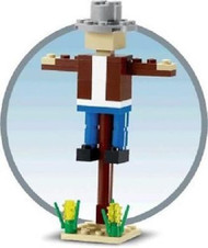 Constructibles® Scarecrow Mini Build LEGO® Parts & Instructions Kit