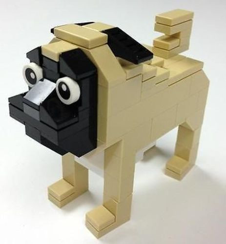 1000  images about Lego pug on Pinterest | Saturday morning, Lego ...