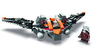 Lego Rocket Raccoon's Warbird Parts & Instructions Kit with Exclusive Minifigure