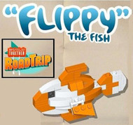 LEGO Build Together Road Trip Flippy the Fish