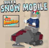 Lego Build Together Road Trip Snowmobile Parts & Instructions Kit