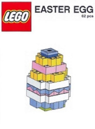 Constructibles® Easter Egg Mini Model LEGO® Parts & Instructions Kit