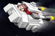 Constructibles® Star Wars® Rebels Micro Ghost LEGO® Parts & Instructions Kit