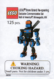LEGO Grand Opening Build Mall of America MN - Robot Mecha