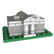 LEGO US Supreme Court Micro Build Parts & Instructions - Monuments Roadshow