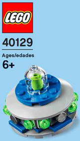 Constructibles® UFO Mini Build LEGO® Parts & Instructions Kit - 40129