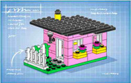 LEGO CLUB Bunny House Parts & Instructions